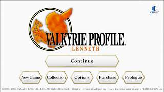 VALKYRIE PROFILE:LENNETH|[Development screen] Artolian Mountain Ruins