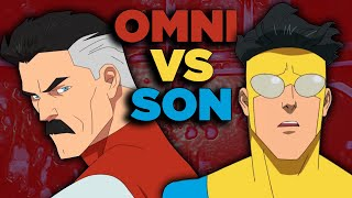 Omni Man vs Invincible