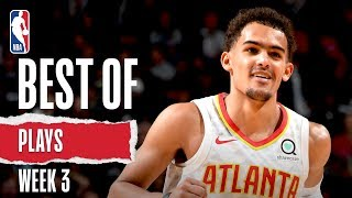 NBA's Best Plays From Week 3 | 2019-20 NBA Season