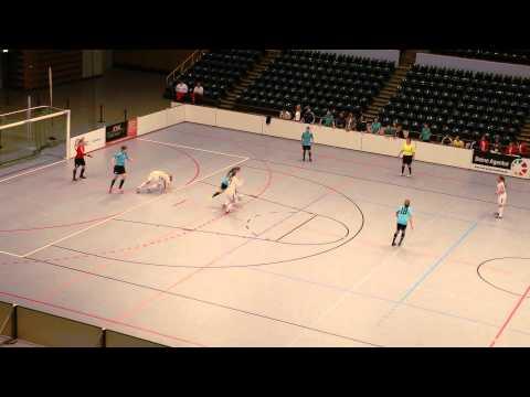 FC Bergedorf 85 - Hamburger SV (Finale, Frauen Hallenmasters 2015) - Spielszenen | ELBKICK.TV