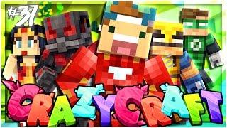 MY SUPERHERO LAIR!! | EP 37 | Crazy Craft 3.0 (Minecraft Youtuber Server)