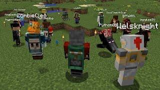 HermitPack E1 I'm a noob again! | 1.10 Modded Minecraft Hermitcraft
