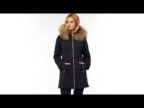 M. Miller M.Miller Astrid Womens Winter Coat in Black