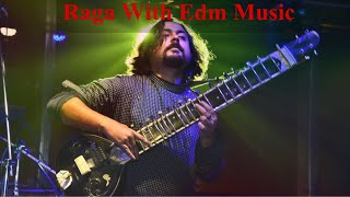 Shouvik Mukherjee - Raga  with electronic music   by  shouvik and suchal
