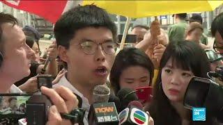 Le militant pro-démocratie Joshua Wong a été libéré à Hong-Kong