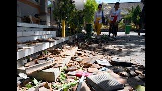 جزيرة بالي تواجه زلزال بقوة 5     -
