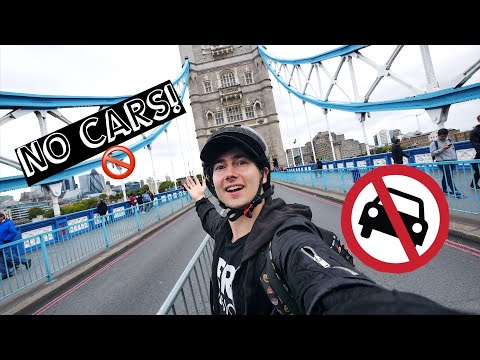 NO CARS!! 🚫 CAR FREE DAY VLOG 🚗 The Future for London??