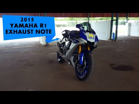 Yamaha R1 Stock Exhaust Note : PowerDrift