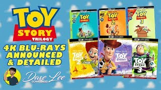 TOY STORY TRILOGY - 4K Blu-ray Announced & Detailed