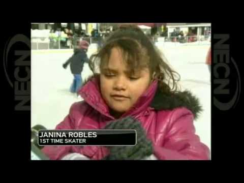 NECN Worcester thanks FCHP for support for rink 2.20.2013