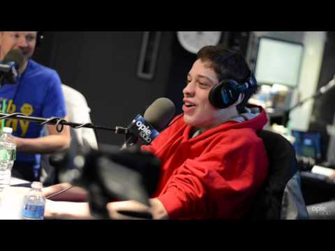 Donald Trump CAN'T Read says SNL Pete Davidson to Opie - @OpieRadio