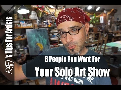 Make Your Art Show A Success - Tips For Artists