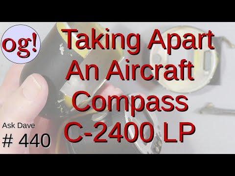 Let's take a broken aircraft compass apart! (#440)