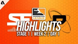 San Francisco Shock vs Philadelphia Fusion ft Poko | Overwatch League Highlights OWL Week 2 Day 1