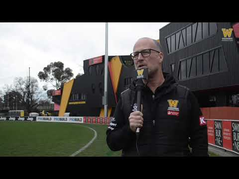 Jeff Andrews: Round 15 post-game (Richmond vs Werribee)