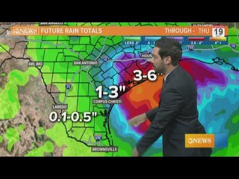 Alan Holt KIII South Texas Weather Forecast 09-16-2019