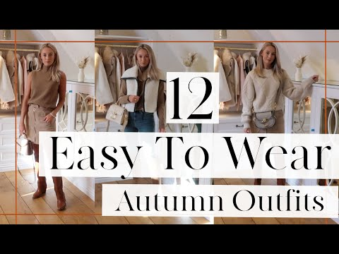 12 EASY TO STYLE AUTUMN OUTFITS // Fashion Mumblr
