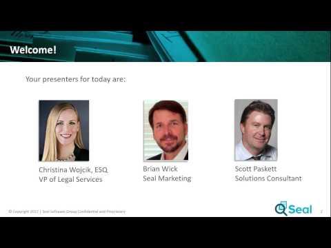 Seal Webinar: GDPR Compliance – Are You Ready?