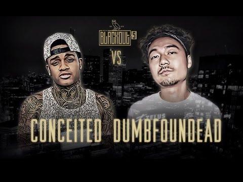 KOTD - Rap Battle - Conceited vs Dumbfoundead | #Blackout5