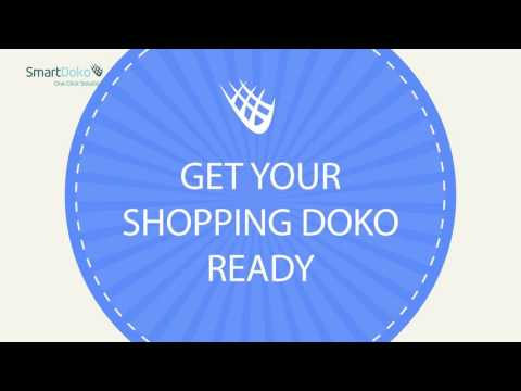 Easy steps to shop online at SmartDoko!