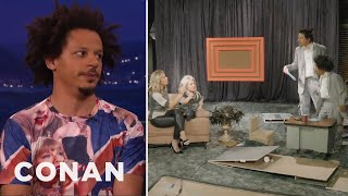 Eric André Likes To Torture His Guests  - CONAN on TBS