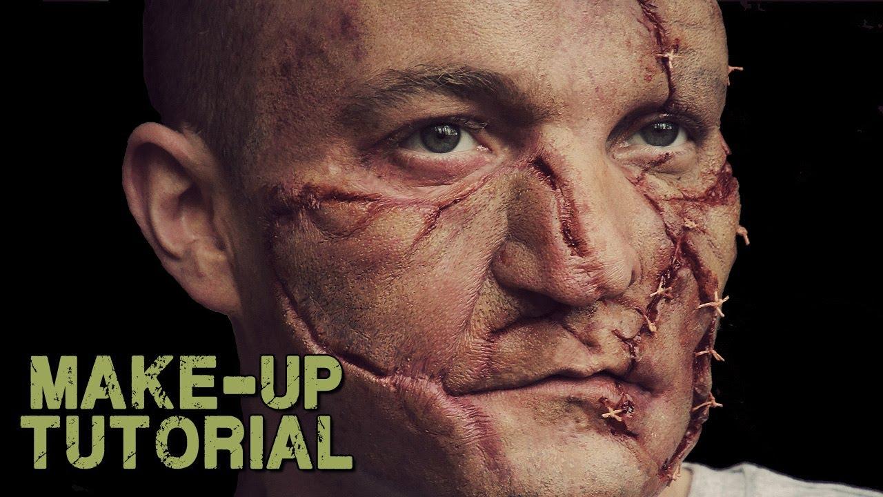 Zombie / Frankenstein Prosthetic FX Makeup Tutorial & Trailer - YouTube