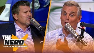 Mark Schlereth on Ezekiel Elliott's holdout and Green Bay's future at quarterback | NFL | THE HERD