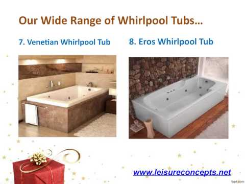 Special Offer on Purchase of Any Whirlpool Bathtubs from Leisure Concepts