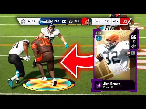 NFL100 JIM BROWN vs ERIC DICKERSON! GAME OF THE YEAR! - Madden 20 Ultimate Team