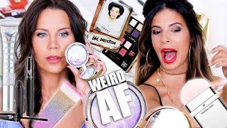 TESTING WEIRD PRODUCTS with Laura Lee