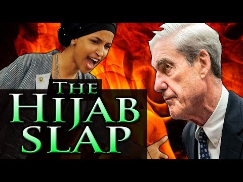 IIHAN OMAR: the HIJAB SLAP ~ Omar & Mueller