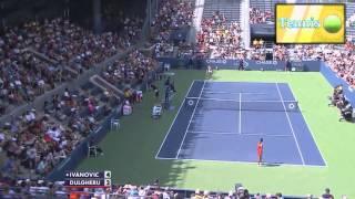 Ana Ivanovic vs. Alexandra Dulgheru [2013 USO R2]