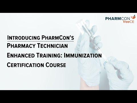 PharmCon Launches Immunization Training Program for Pharmacy Technicians
