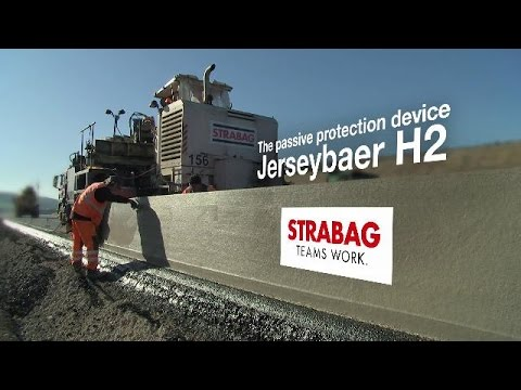 STRABAG Jerseybaer H2 - The passive protection device
