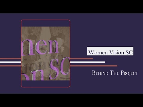 screenshot of youtube video titled Palmetto Scene | A Women Vision Special