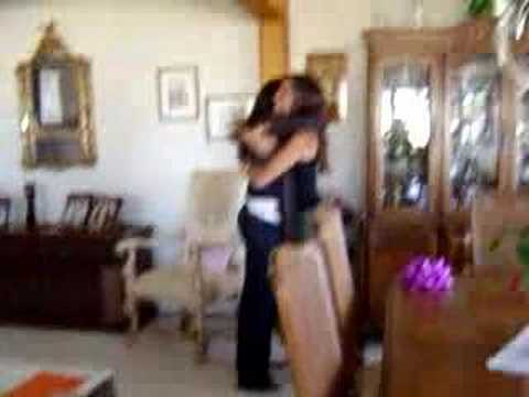 Surprising My Sister - Jumping Out of a Box