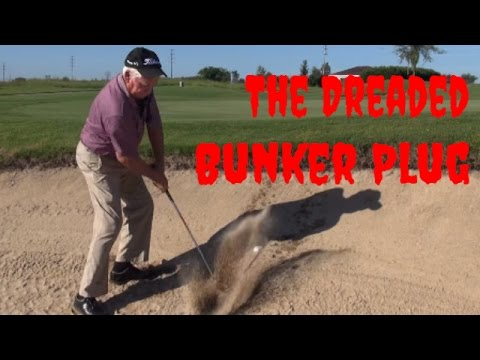 Golf Lesson - Plugged Bunker Lie - Gravity Golf