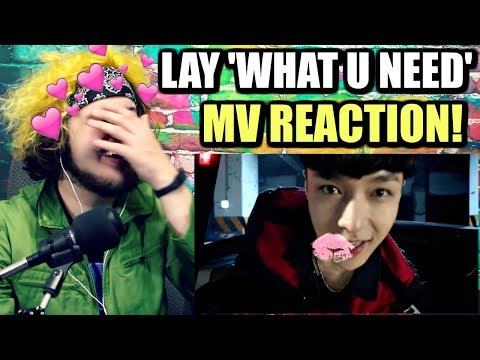 LAY 레이 'what U need?' MV | LAY IS AMAZING I CAN'T EVEN! | REACTION!!