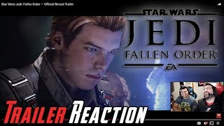 Star Wars Jedi: Fallen Order - Angry Reaction!