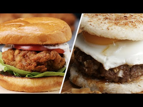 5 Burger Recipes That Will Make Your Mouth Water ? Tasty