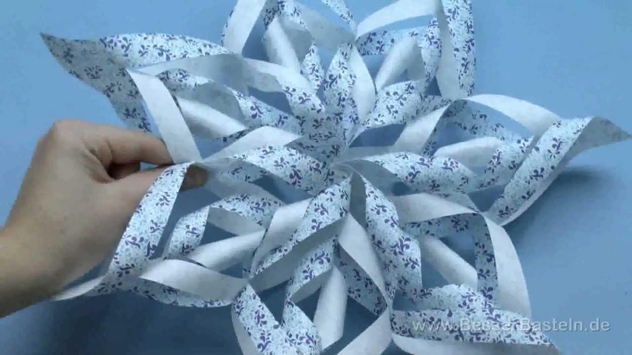 weihnachtsstern basteln einfaches last minute geschenk paper star youtube. Black Bedroom Furniture Sets. Home Design Ideas