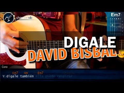Baixar Como tocar Digale de - DAVID BISBAL - en Guitarra Acustica (HD) Tutorial