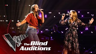 Katie & Aoife's 'Chiquitita' | Blind Auditions | The Voice UK 2020