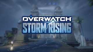 Overwatch Storm Rising Skins, Voice Lines, Sprays, and More! Overwatch Gameplay!