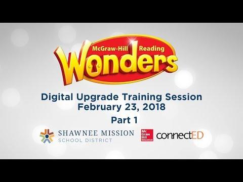Part 1: Wonders Digital Upgrade Training Session