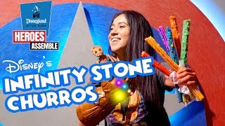 The Infinity Stone Churros At Disney's Heroes Assemble Night! Disney After Dark