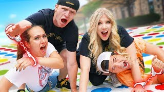 Couples HANDCUFFED Together Challenge vs UNSPEAKABLE!