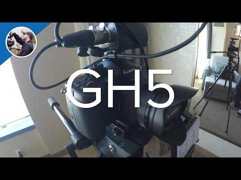 My NAB 2017 Camera Setup - Panasonic GH5!