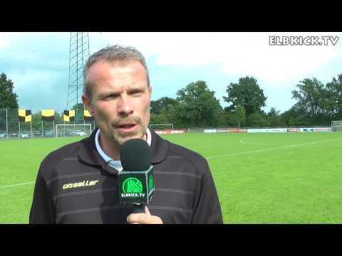 Matthias Stuhlmacher (Trainer Meiendorfer SV) und Lutz Göttling (Trainer SC Victoria Hamburg) - Die Stimmen zum Spiel (Meiendorfer SV - SC Victoria Hamburg, Oberliga Hamburg) | ELBKICK.TV