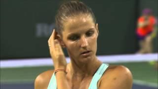 Highlights: Azarenka Beats Pliskova For Final Berth